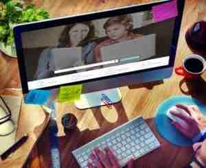 online meeting image