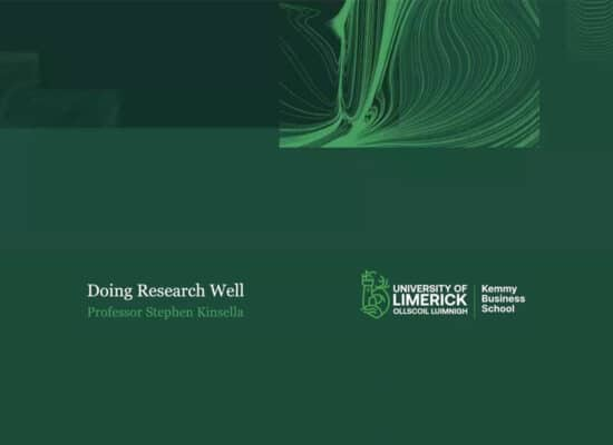 LC Economics: Link to Research Study Webinar with Stephen Kinsella
