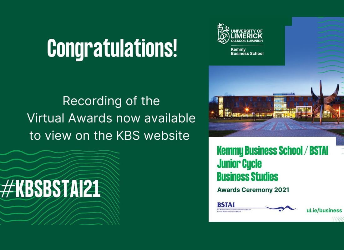 KBS/BSTAI JC Business Studies Awards 2021