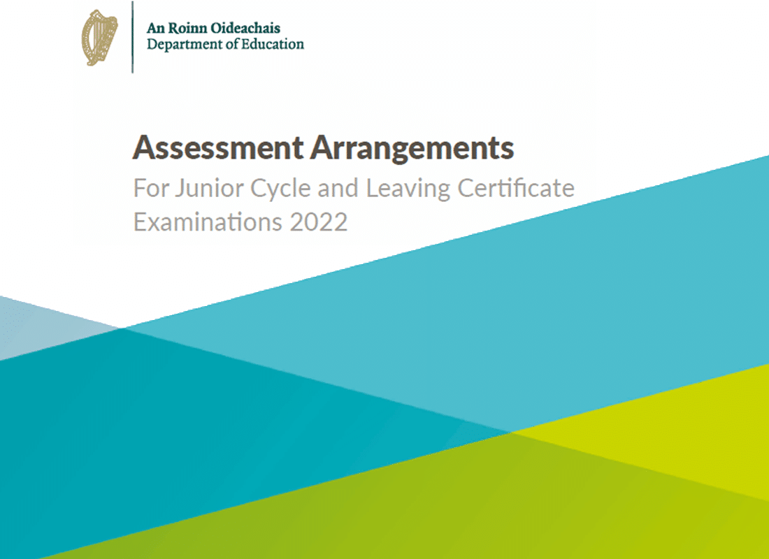 Assessment Arrangements for JC & LC 2022